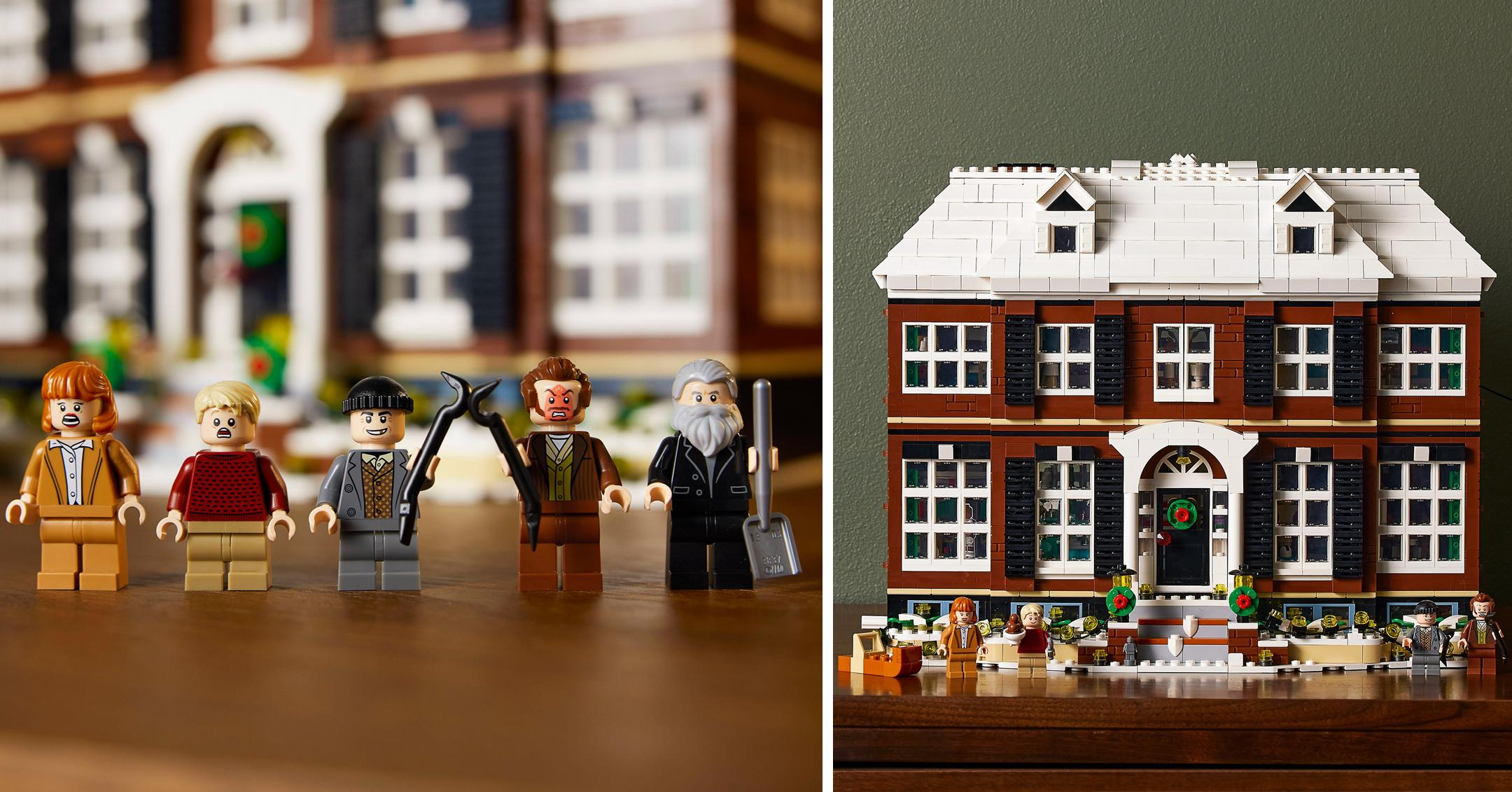 lego house based on the house from the all time festive classic movie home alone