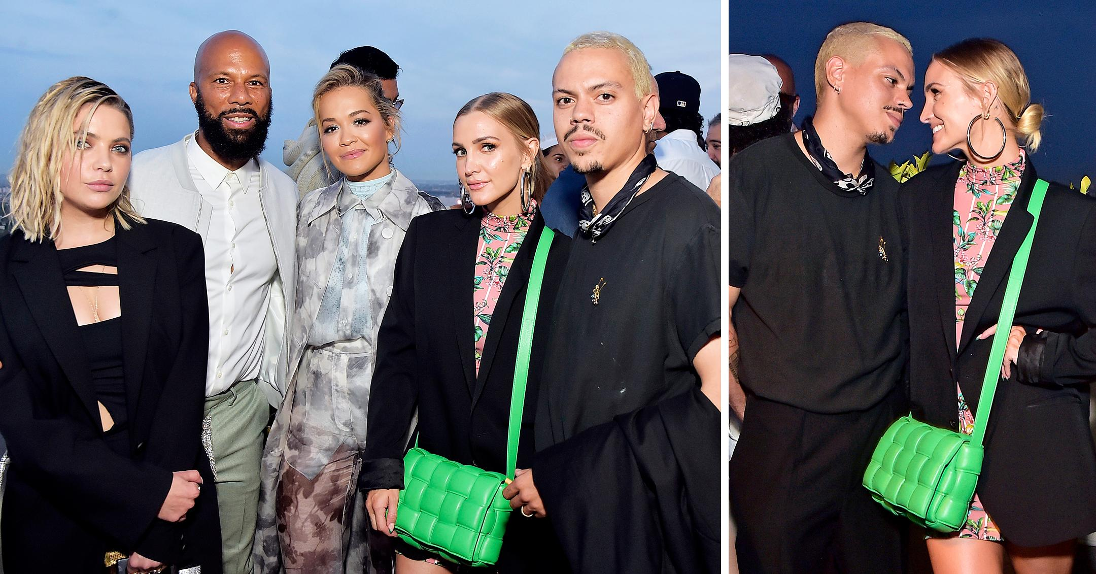 ashlee simpson ashley benson rita ora and more at artist and actor common hosts coin cloud cocktail party