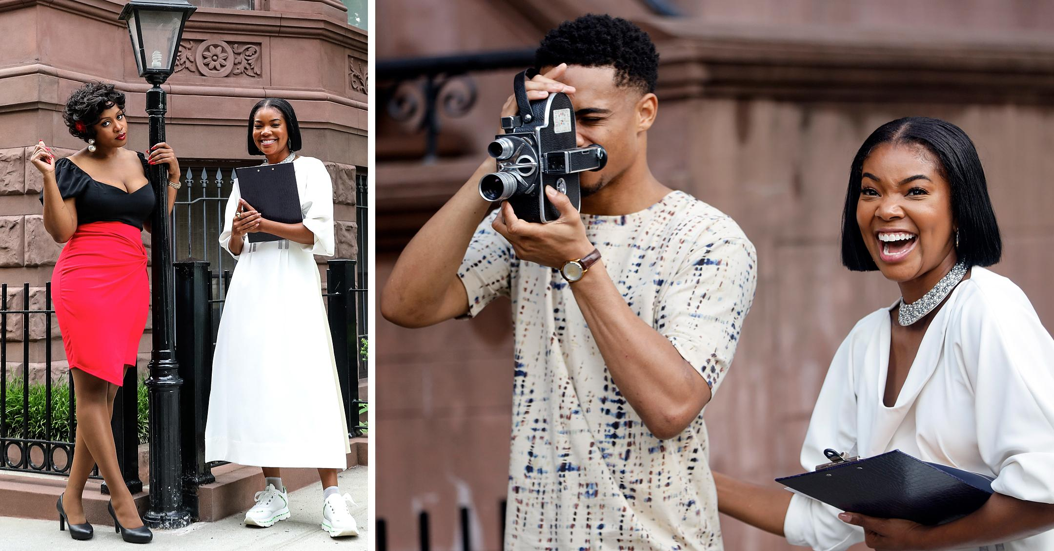 gabrielle union remy ma keith powers filming the perfect find