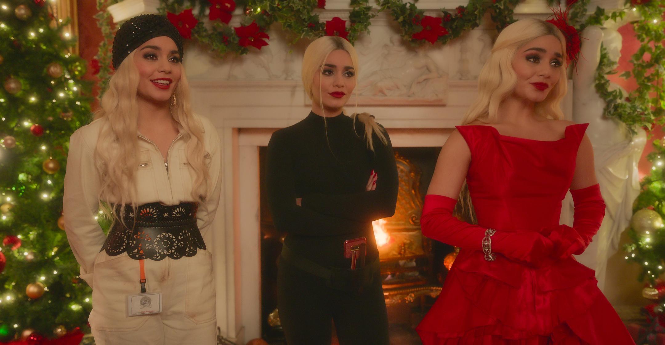 vanessa hudgens trio roles netflixs princess switch