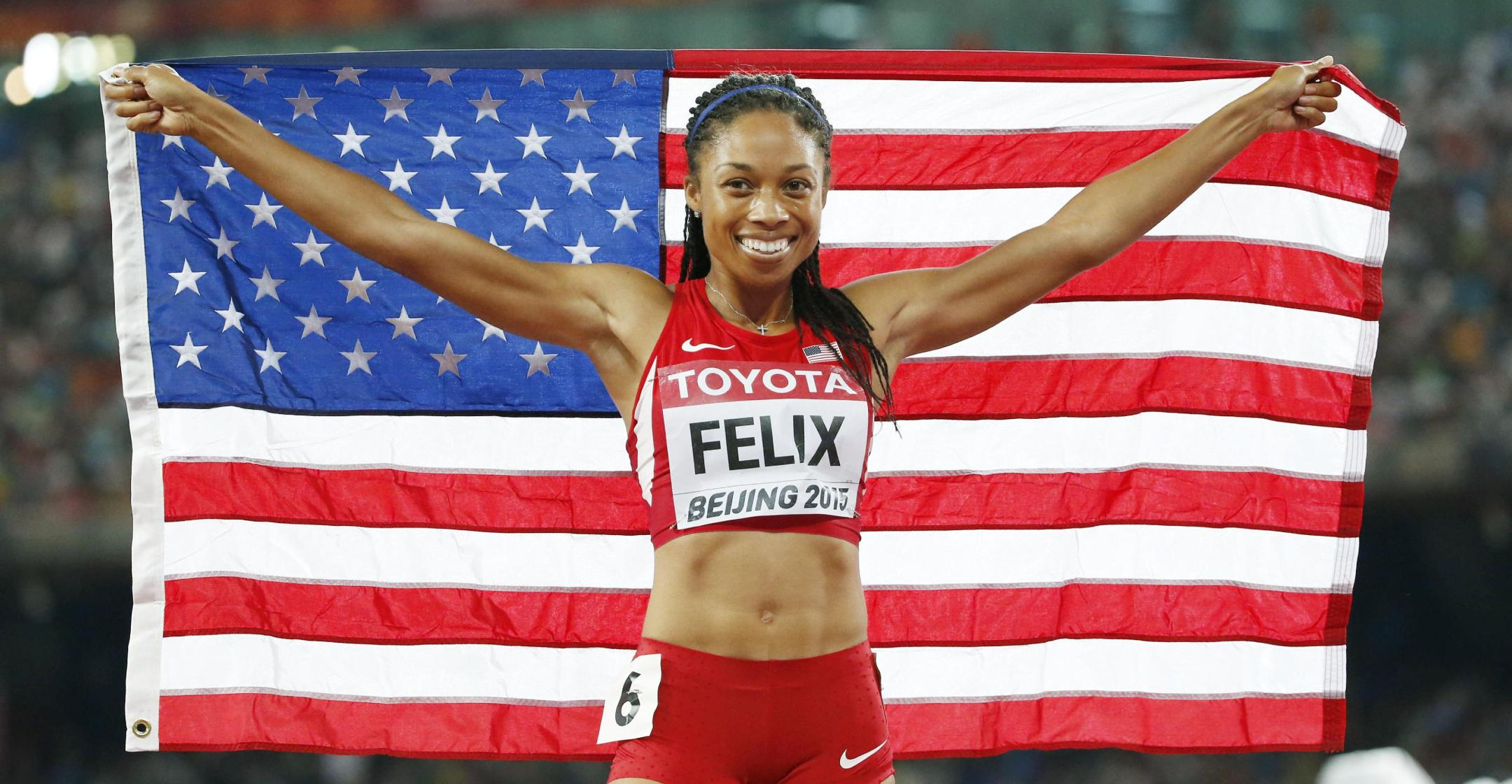 final olympics allyson felix hopes to be remembered someone who fought for women