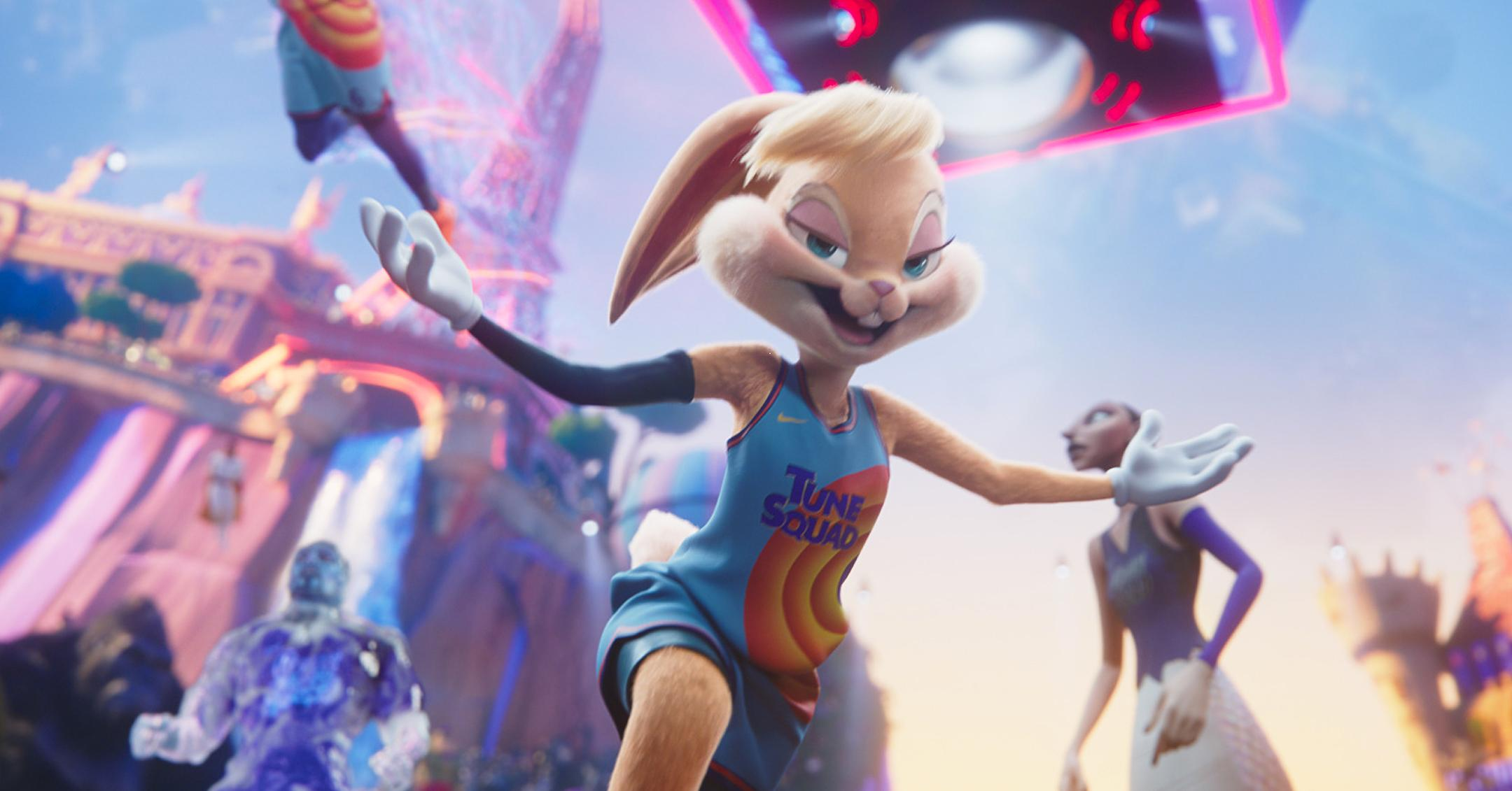 lola bunny makes her debut in space jam a new legacy mockumentary