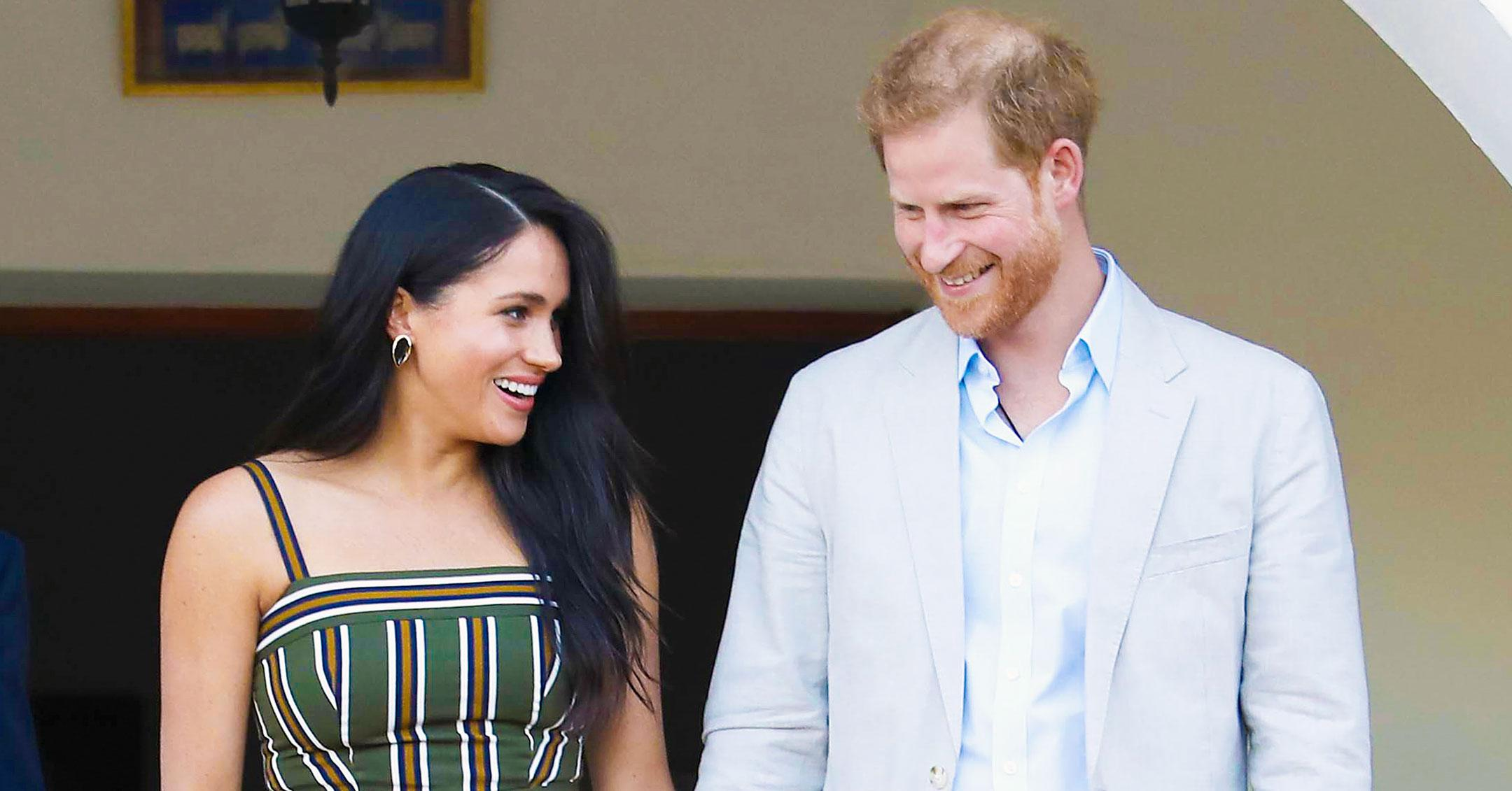 prince harry meghan markle gives birth second child mh pp