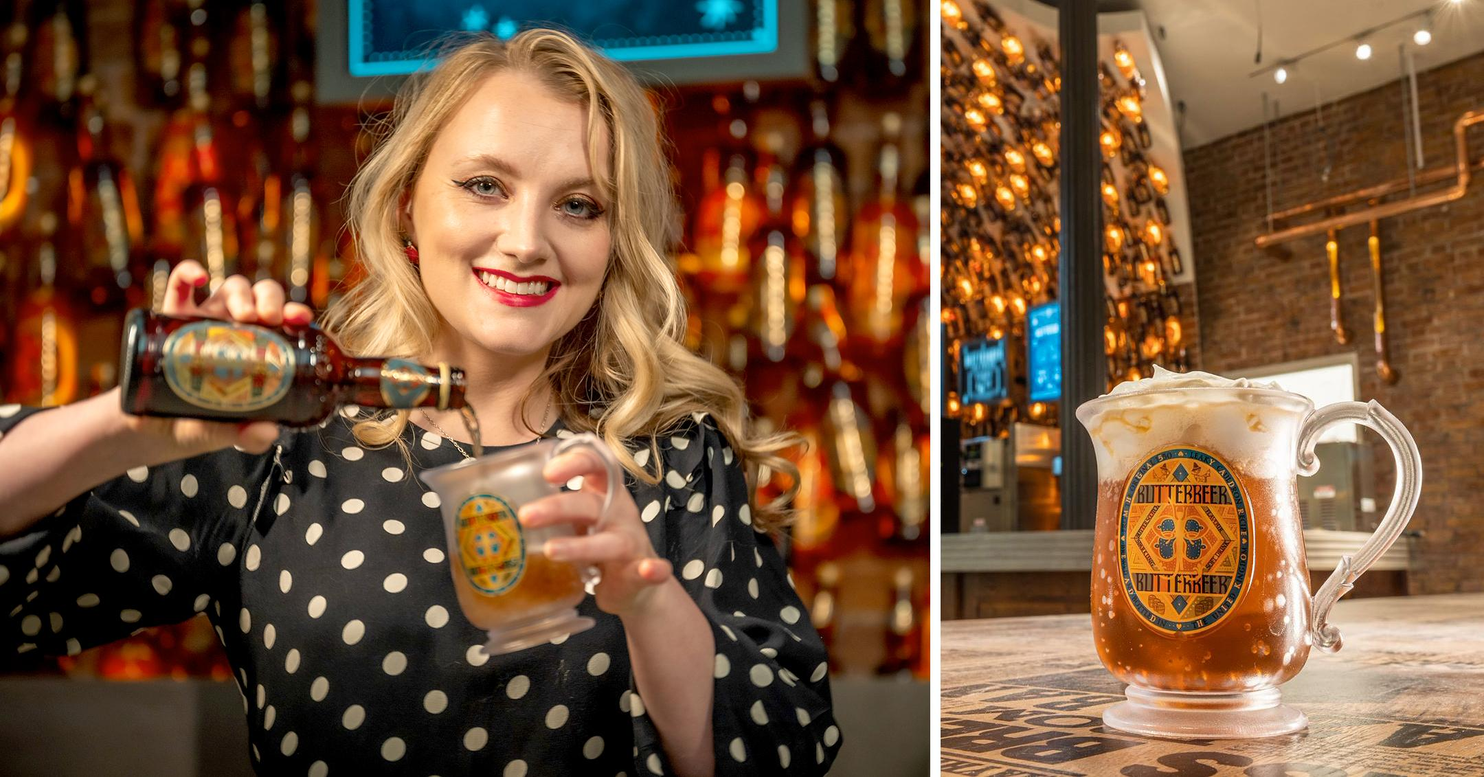 harry potter flagship store in nyc includes butterbeer bar drink the famous sip