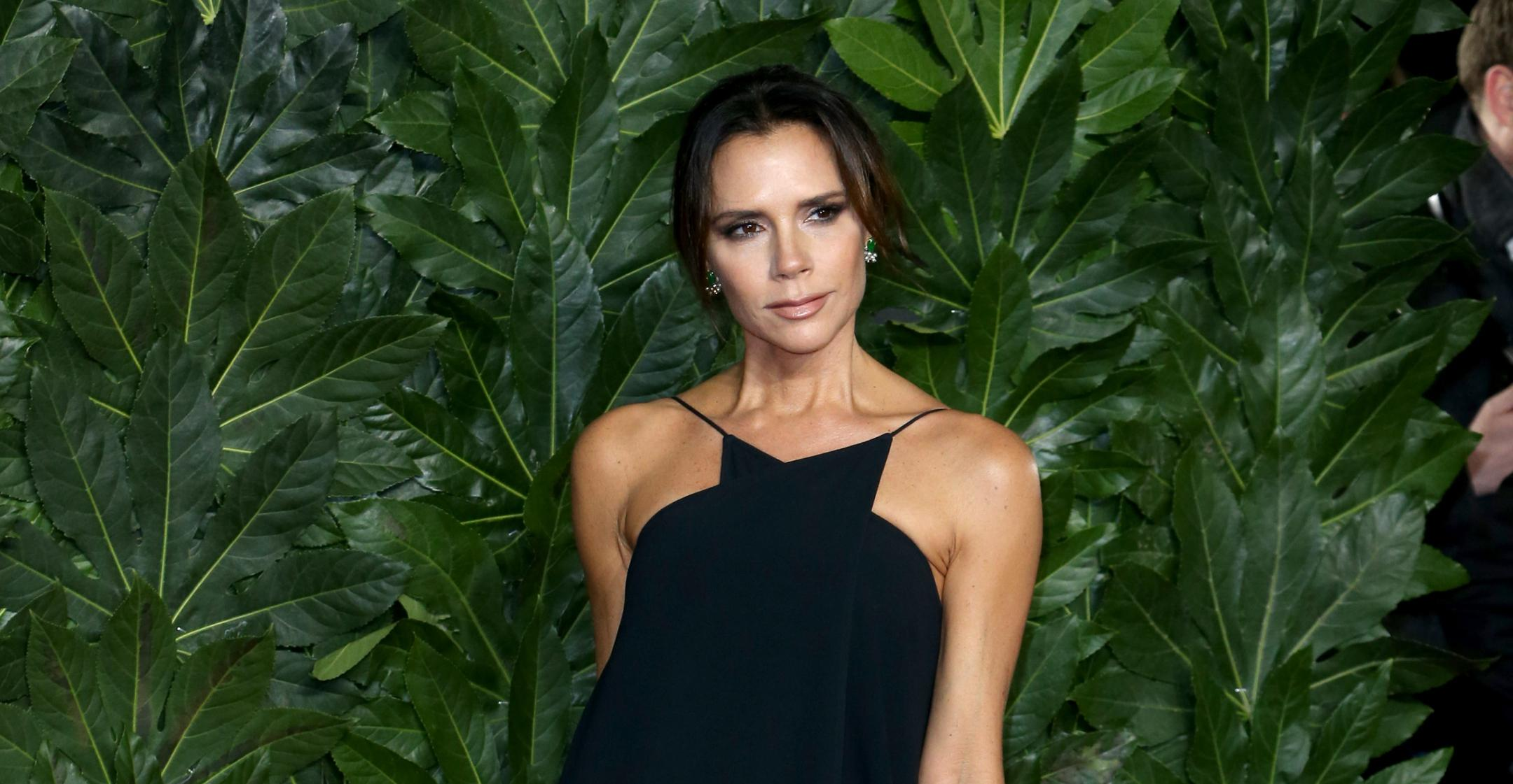 victoria beckhams trick will save you from looking hungover