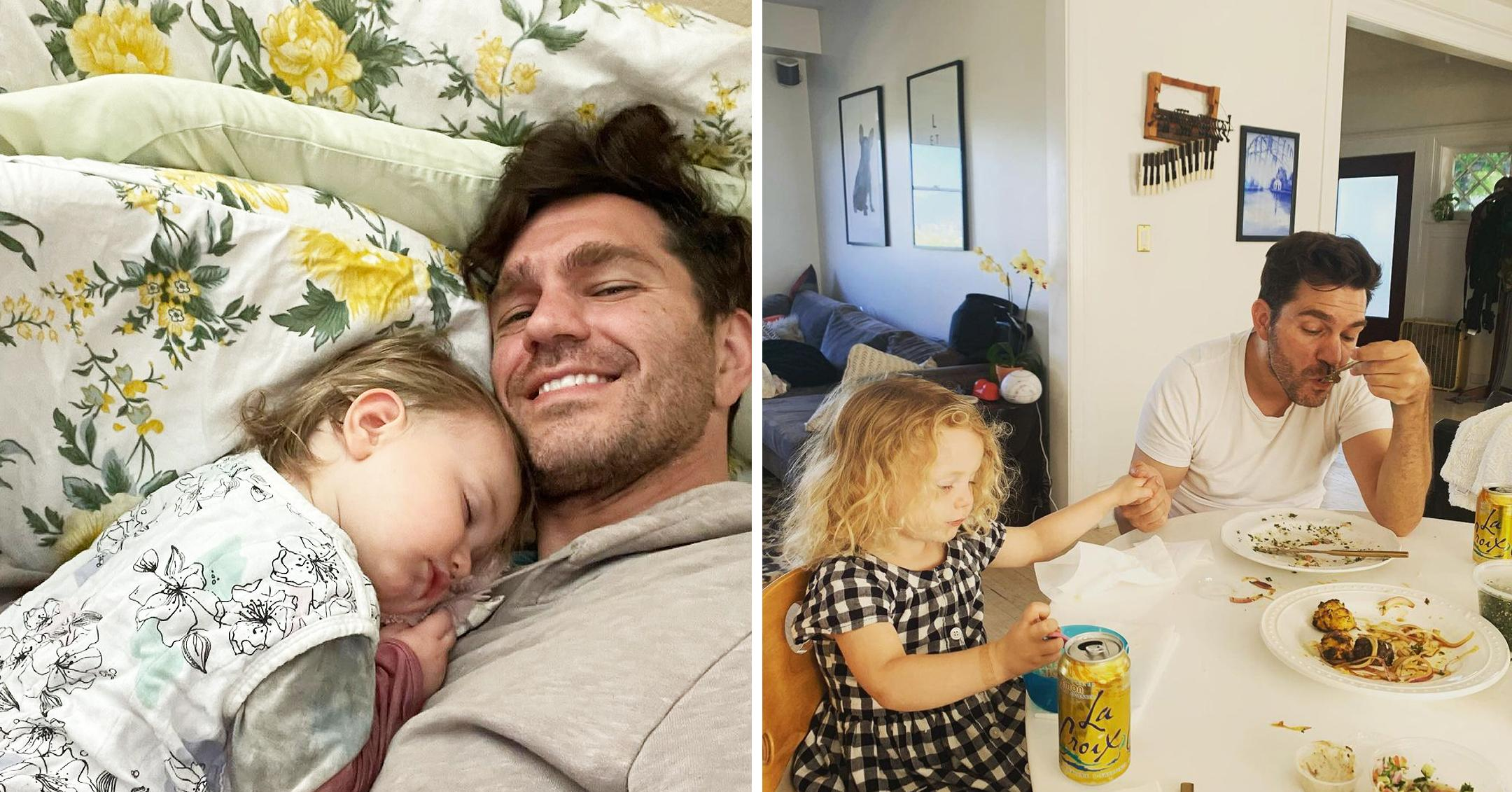 andy grammer says he wants to be a role model for daughter