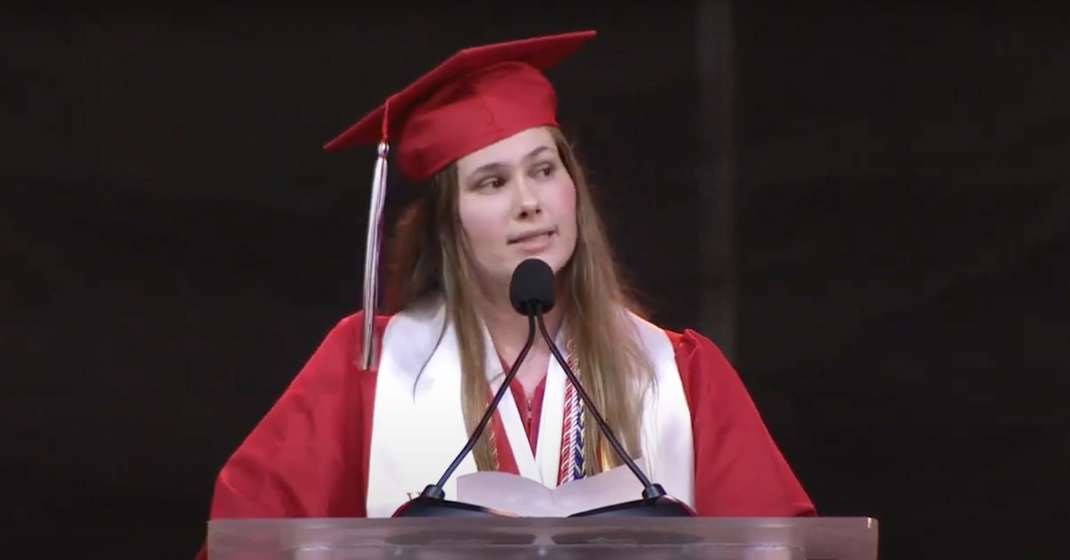 dallas valedictorian slams texas abortion law in graduation speech