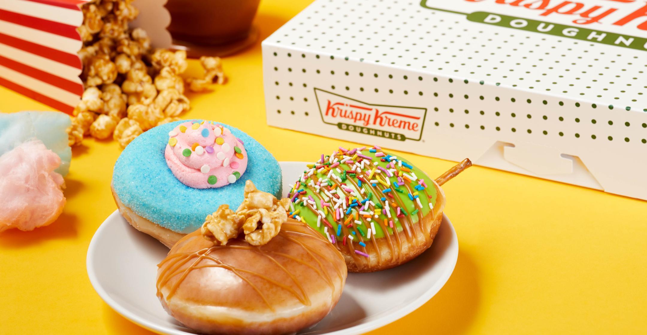 krispy kremes new carnival themed doughnuts