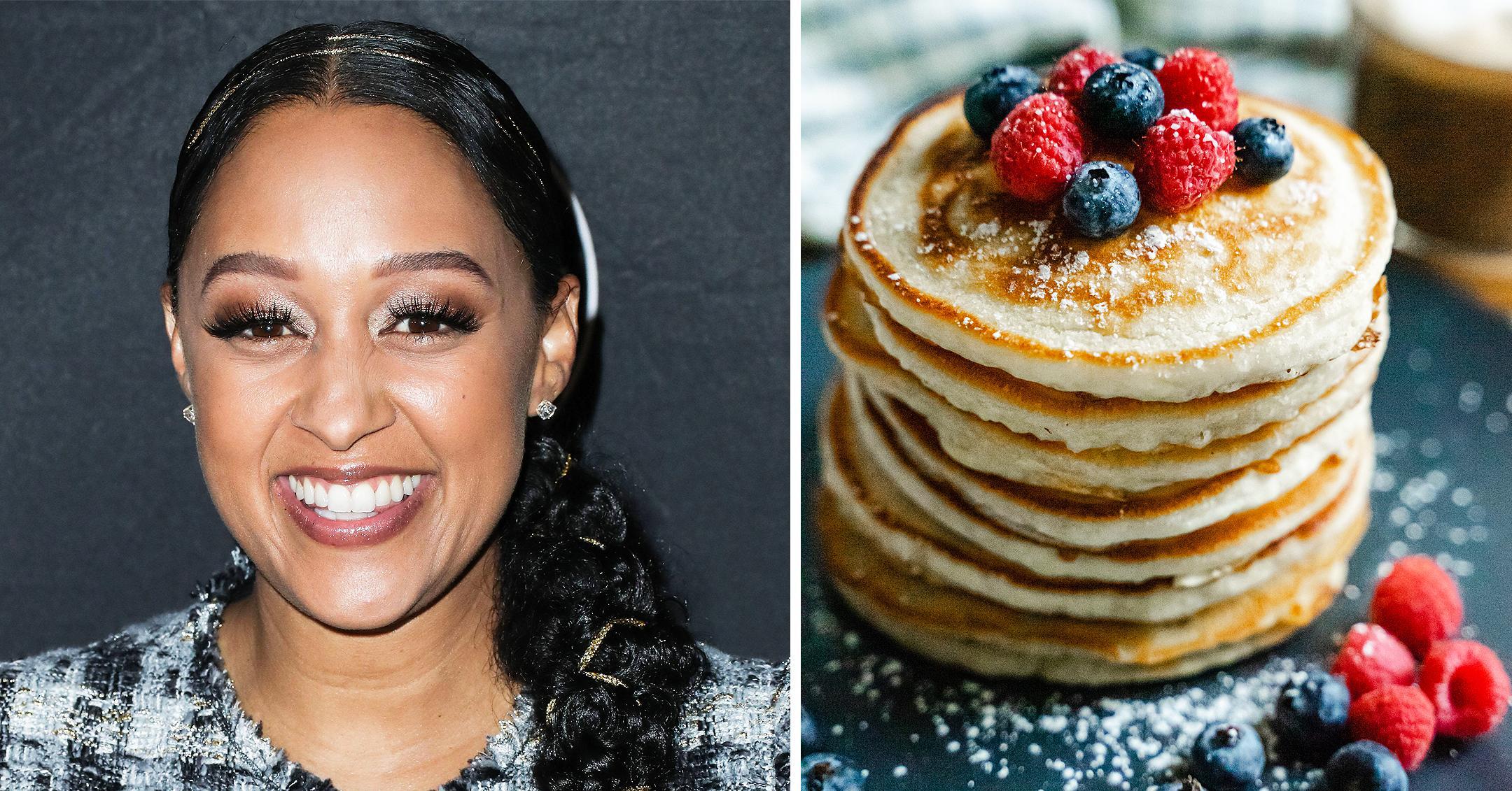 tia mowrys sheet pancakes quick easy breakfast recipe