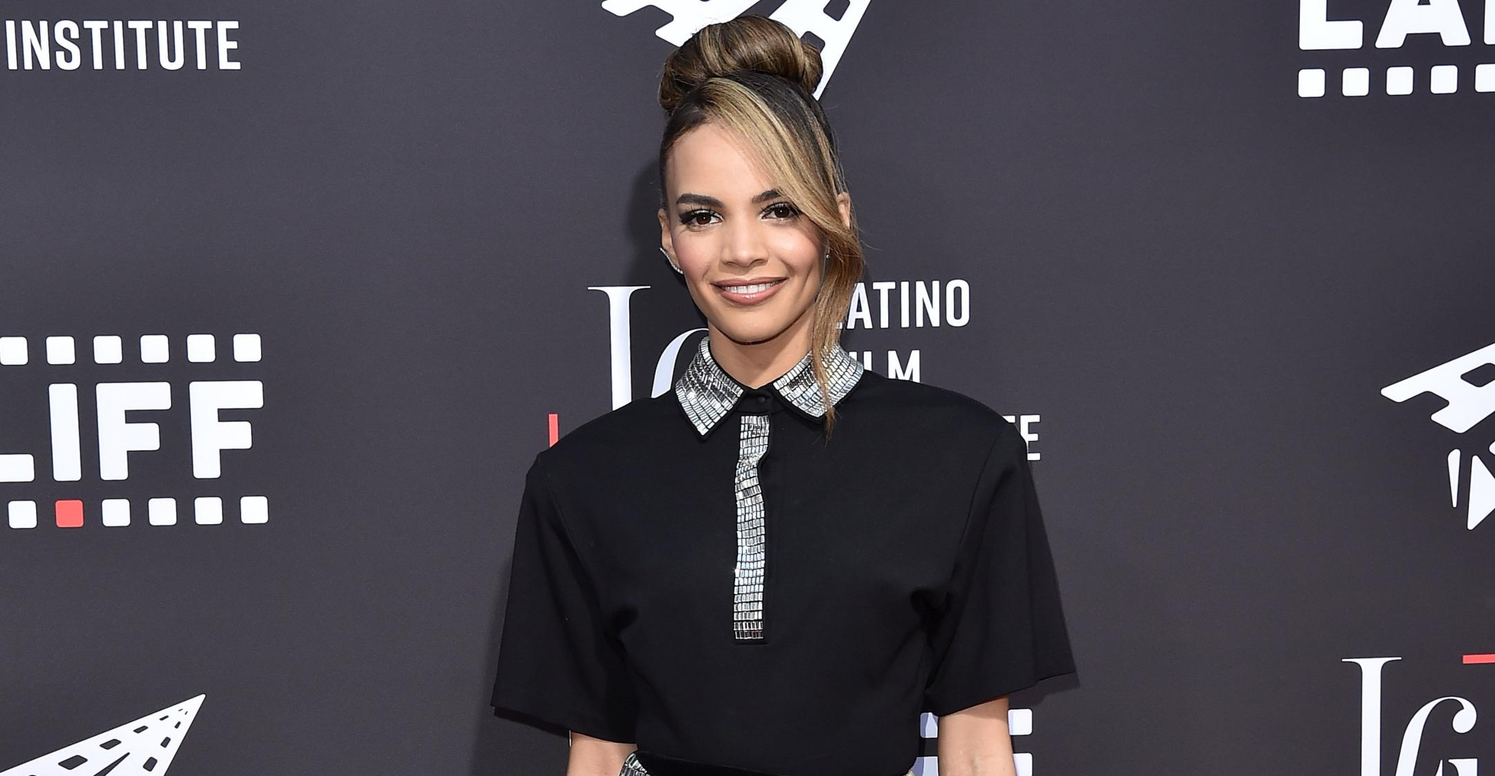 in the heights star leslie grace encourages everyone to talk about familys roots culture