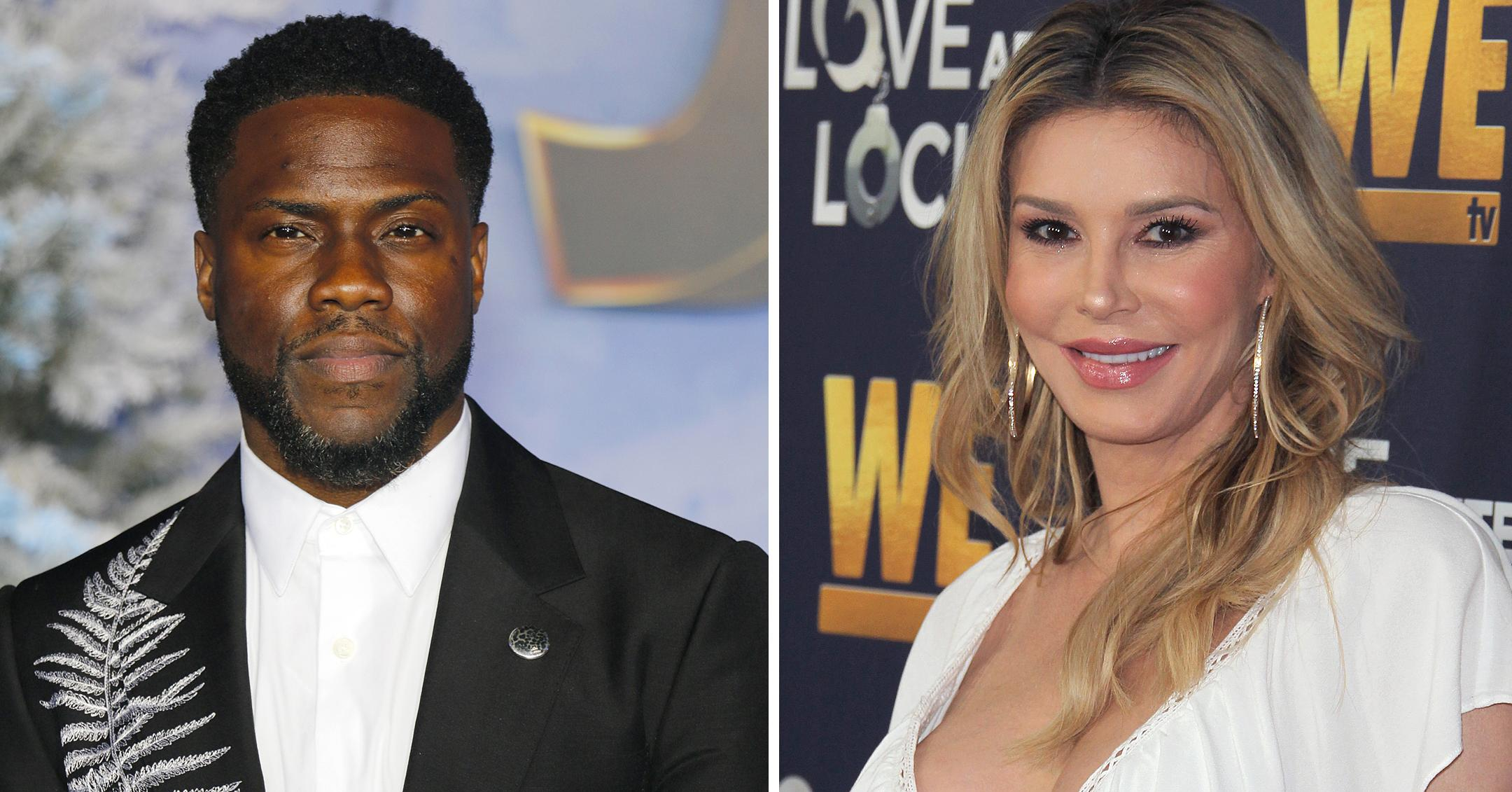 new study shows kevin hart brandi glanville twitter most foul mouthed celebs