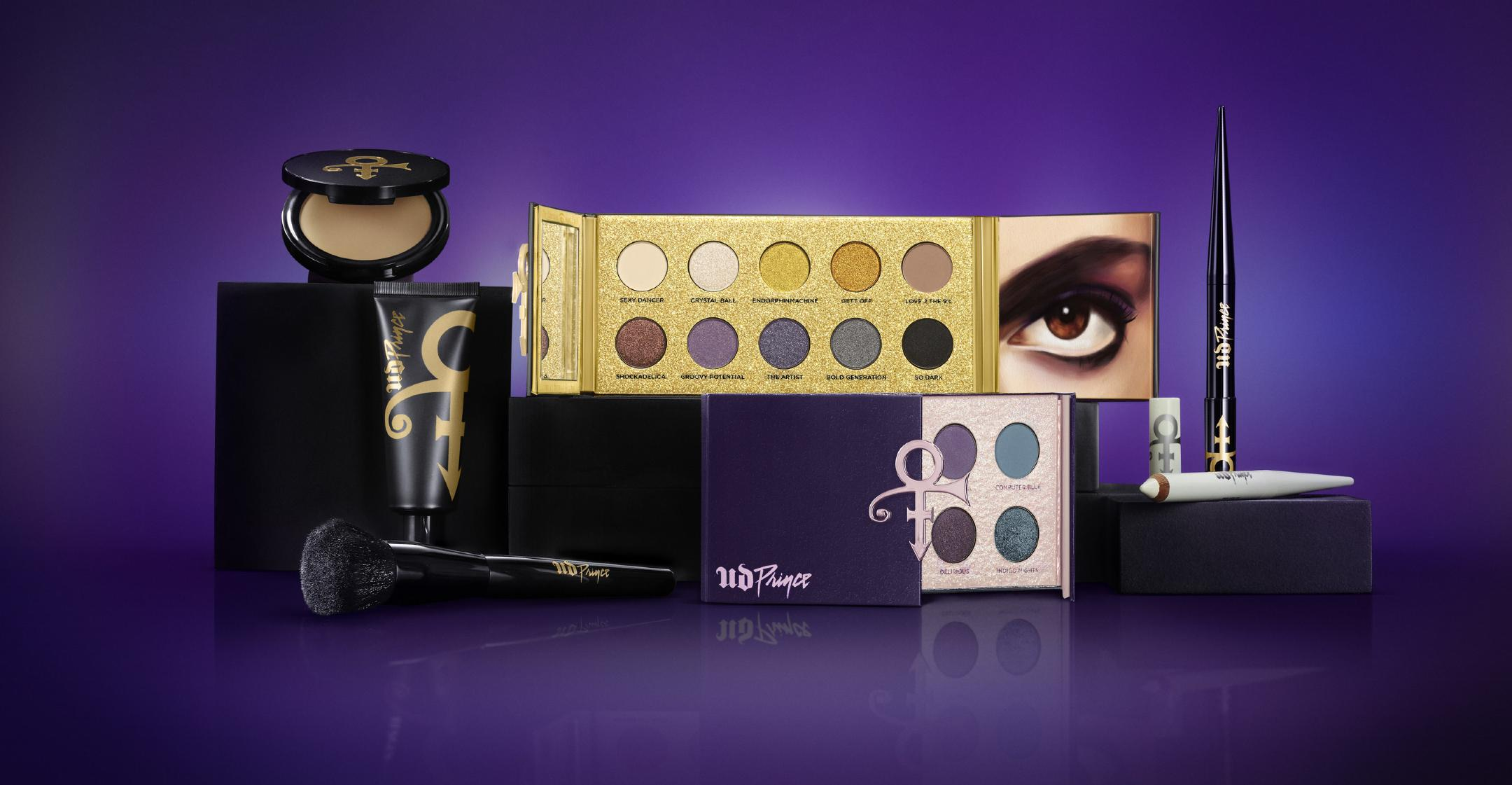 urban decay and the prince estate unveil makeup collection inspired by late singer
