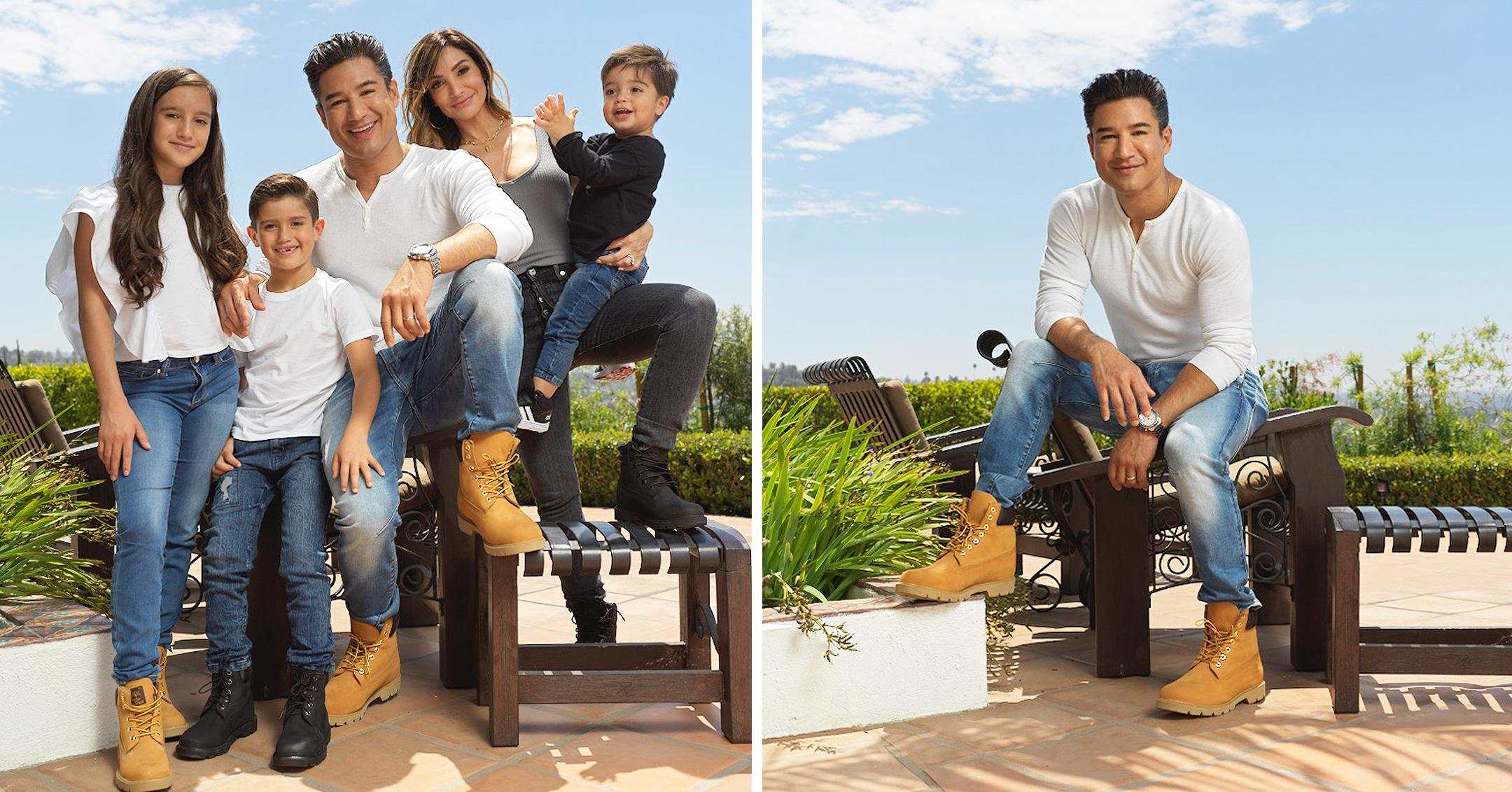 mario lopez and family kicks off back to school with dsw to build confidence through style