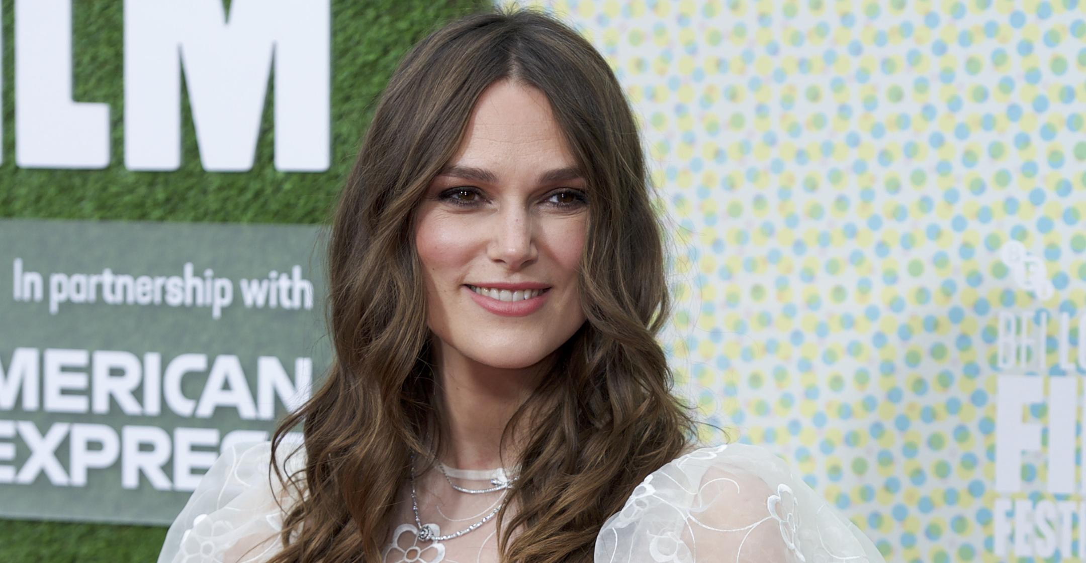 keira knightley kept daughters entertained during quarantine by letting them wear designer gowns