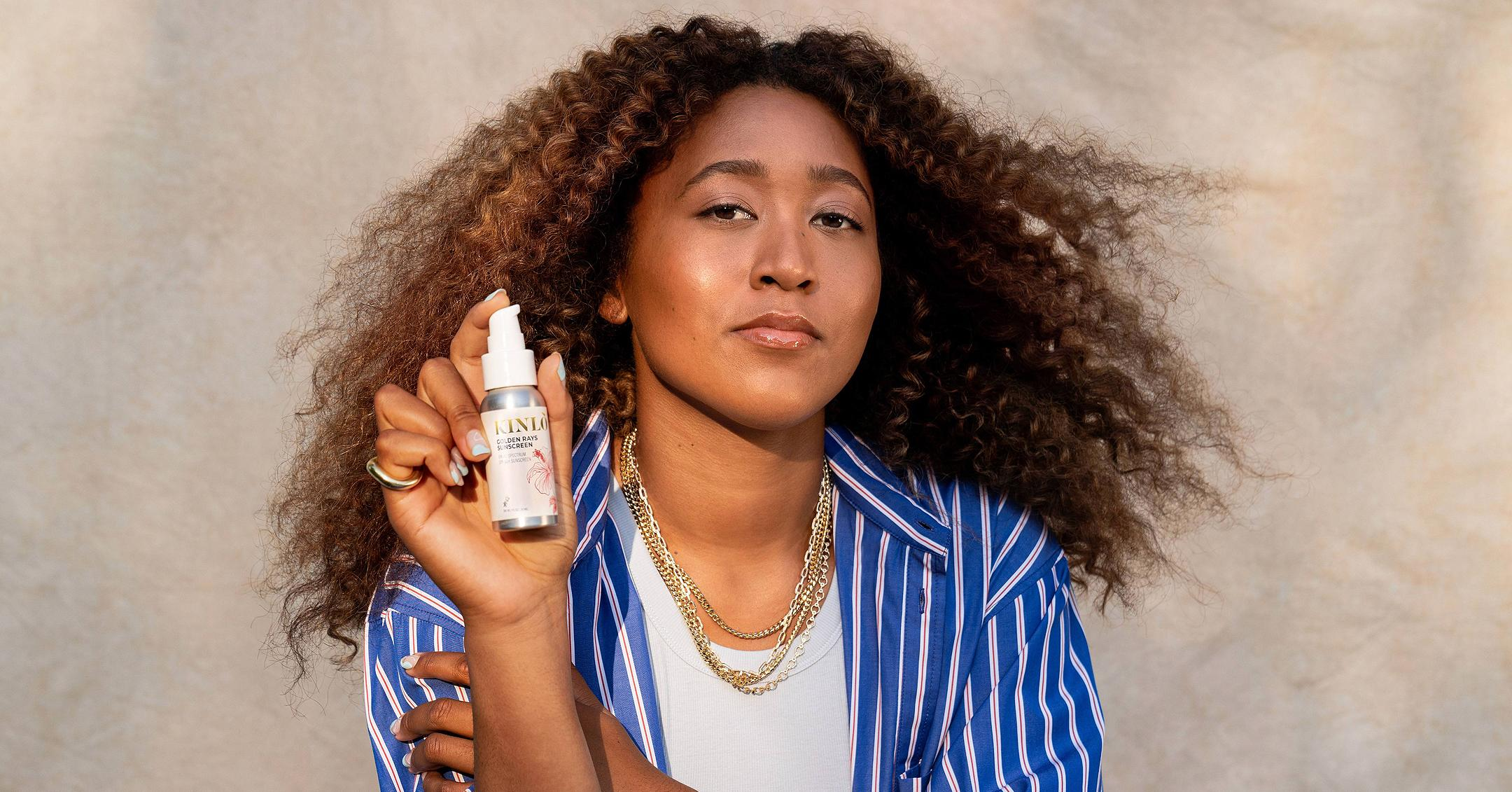 naomi osaka launches skincare brand