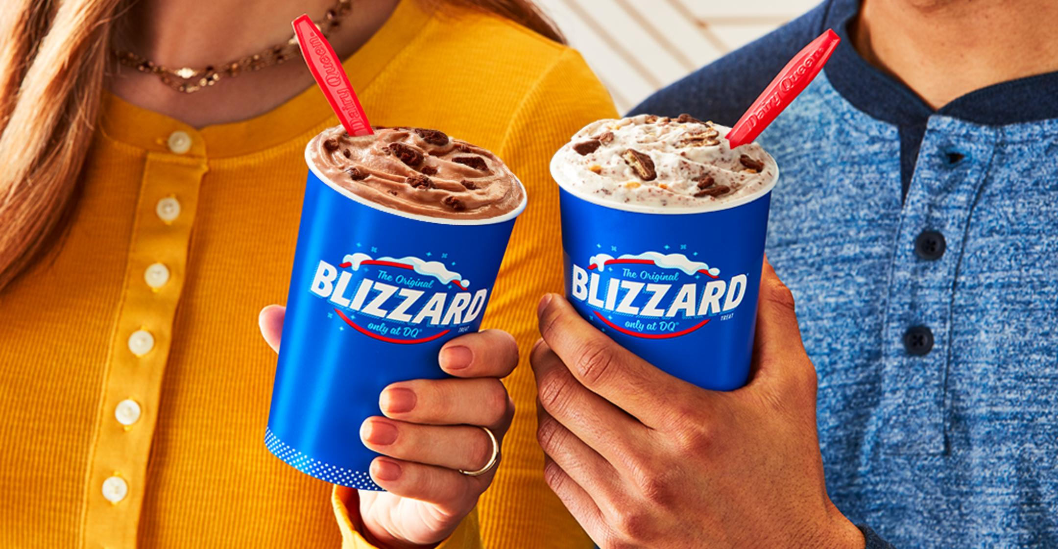 dairy queen giving  fans chance to win free blizzard treats all season