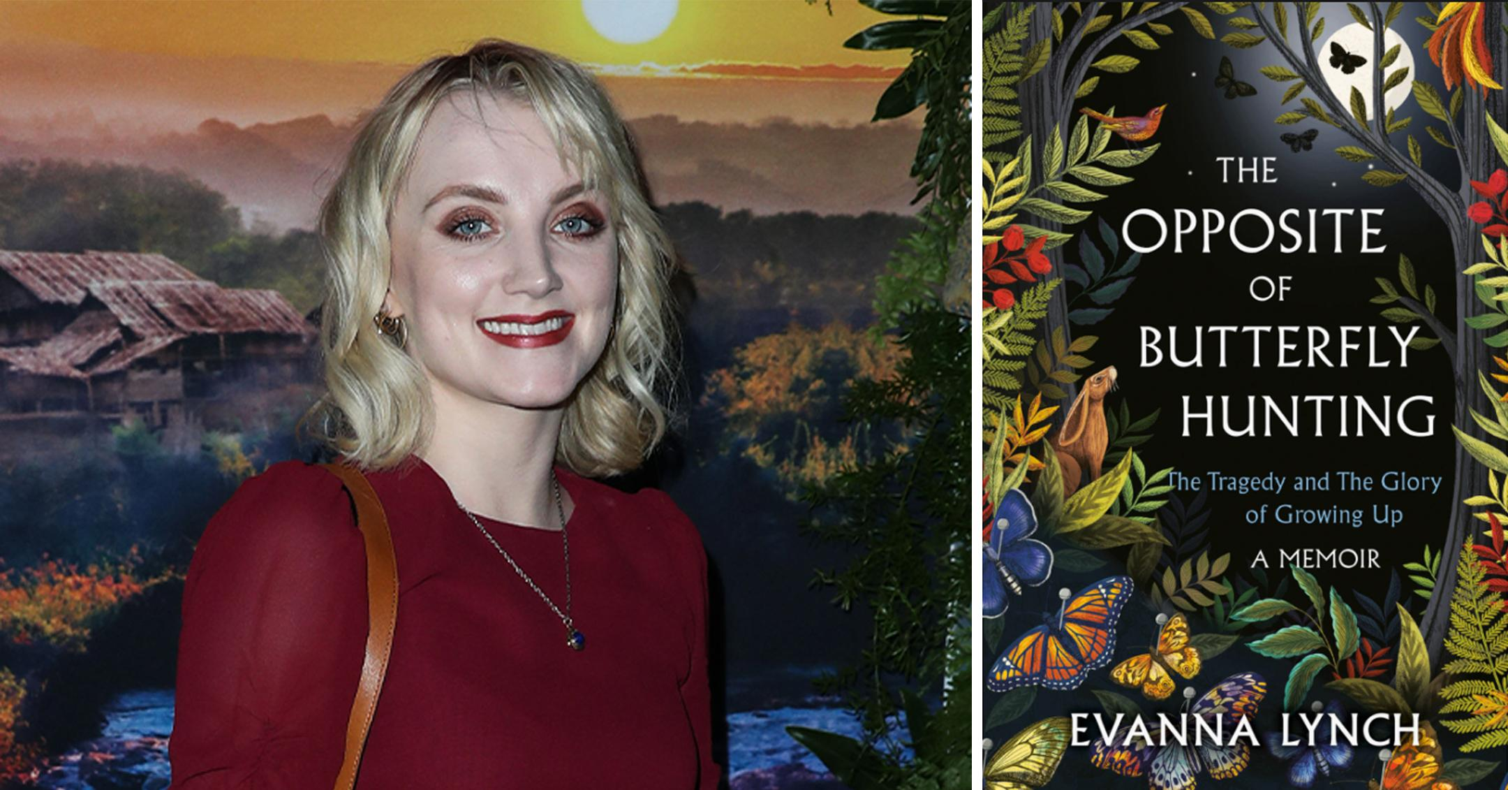 evanna lynch sent memoir to two harry potter colleagues pp