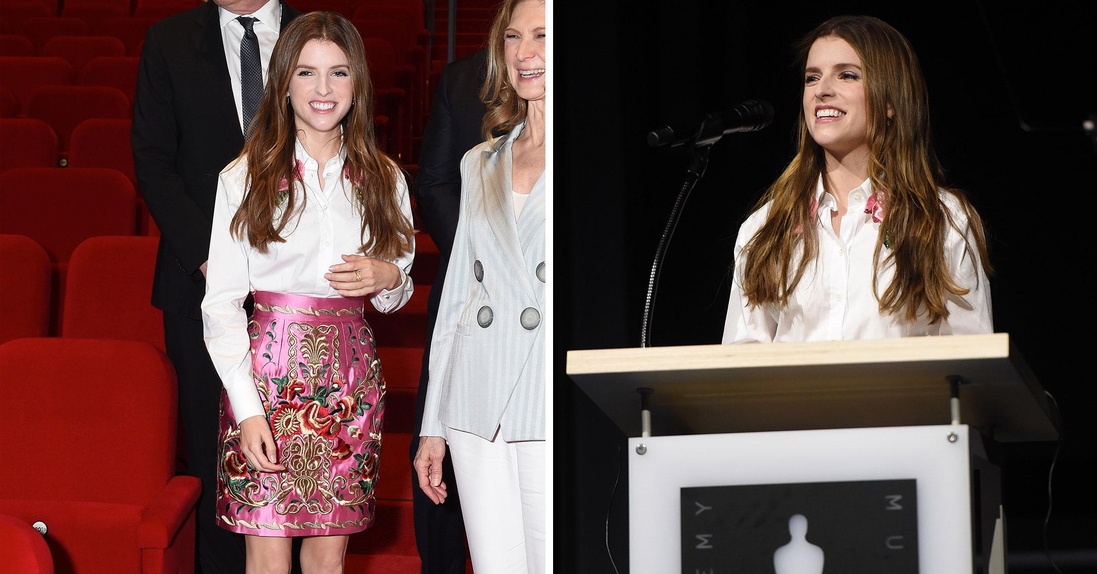 anna kendrick at academy museum of motion pictures press conference pp
