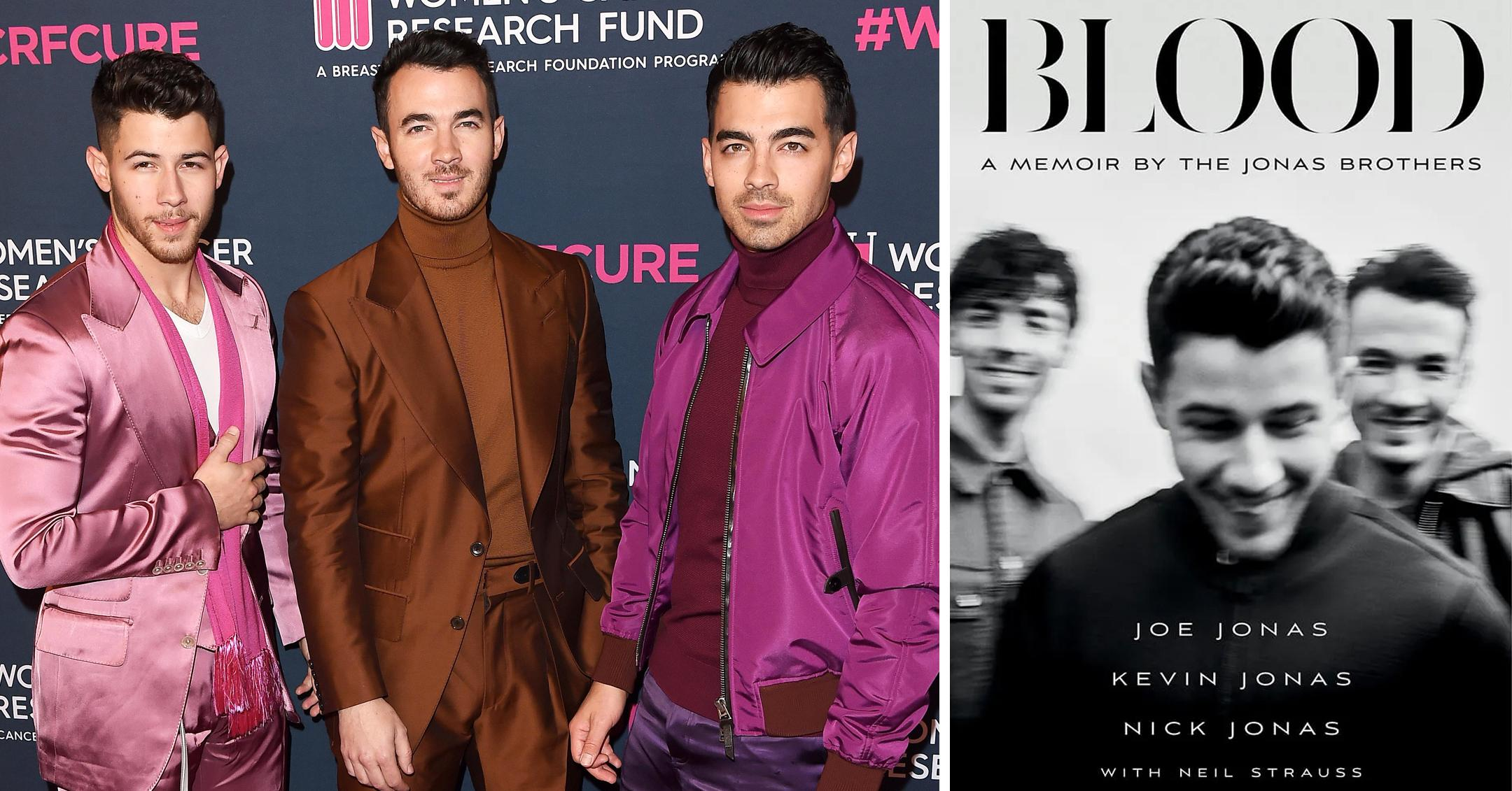 jonas brothers memoir blood will be out this fall