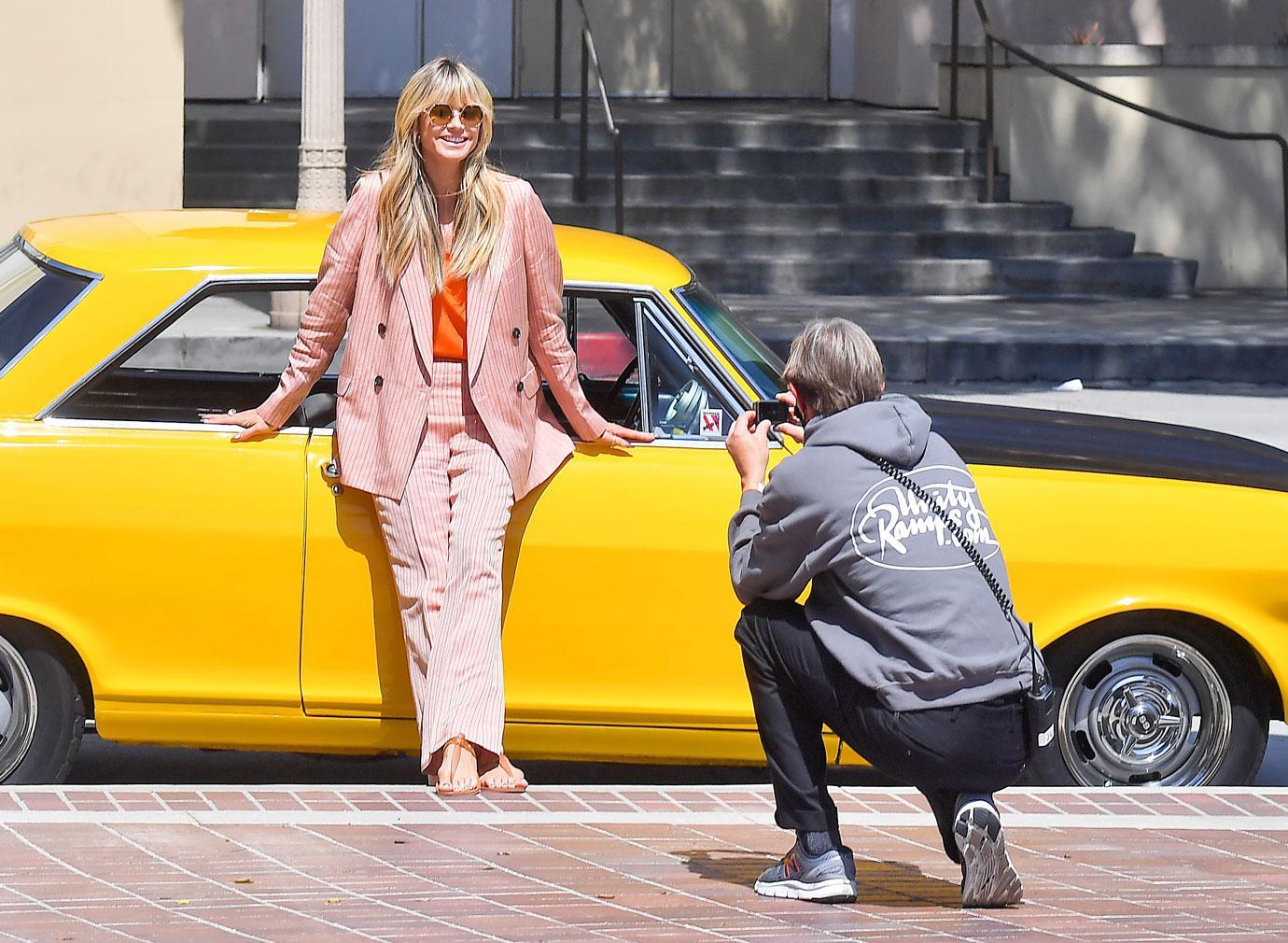 Tearful And Sick Heidi Klum Video Chats Howie Mandel On