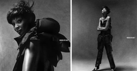 mh naomi campbell models for hood by air