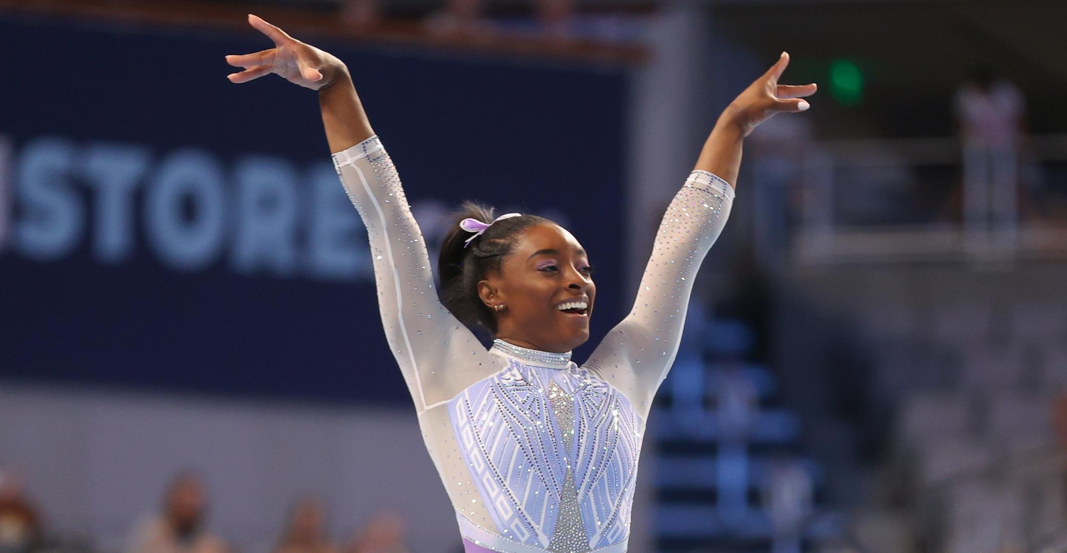 gymnast simone biles self care plays big role in preparing for olympics