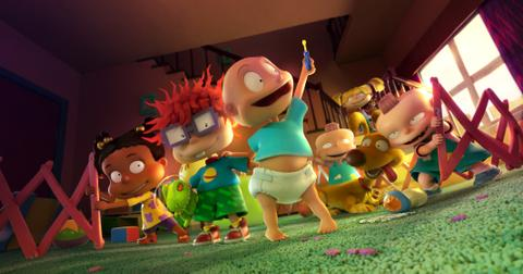 rugrats reboot returning voice actors new animation mh