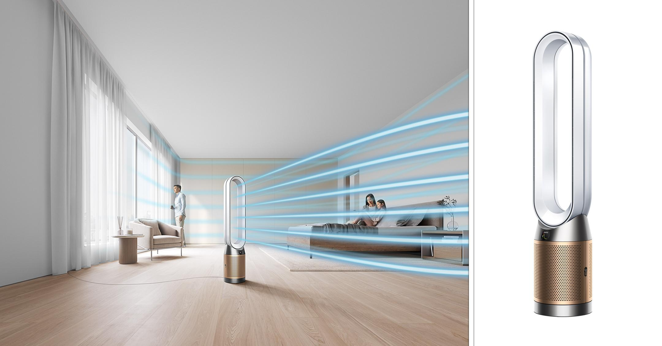 dyson launches new purifiers healthy