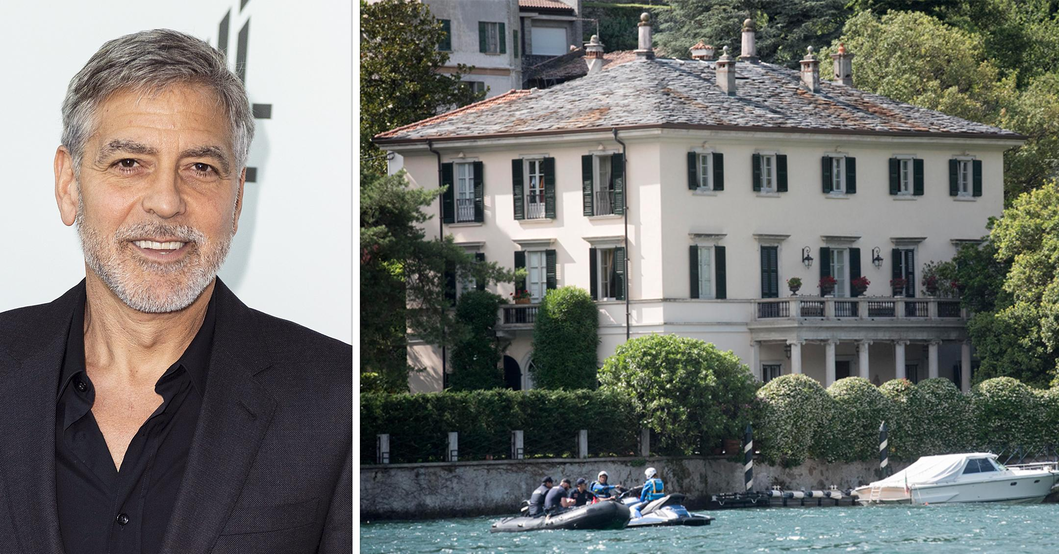 win all expenses paid trip to italy dine with george clooney at lake como villa
