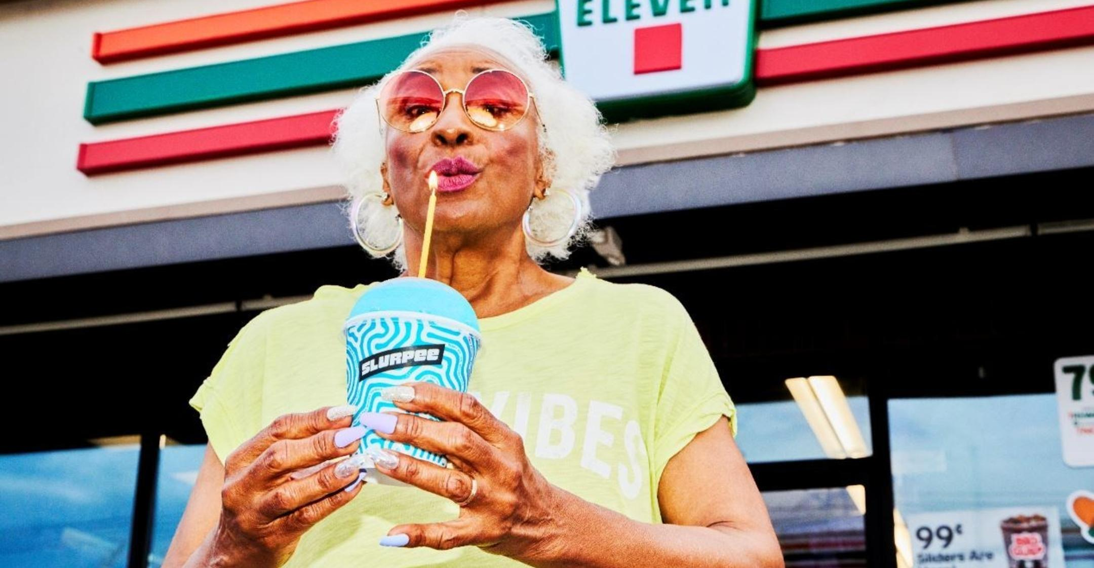 july  eleven letting you pick any day of the month to receive free slurpee